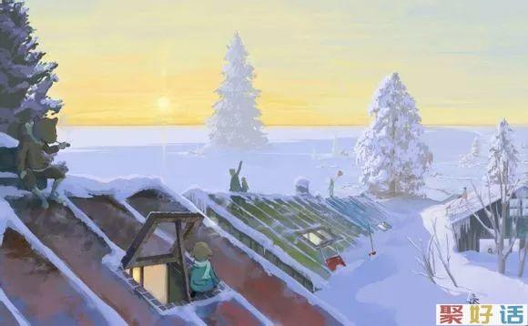 下雪天文案大全分享: 霜雪吹满头 也算共白首!插图