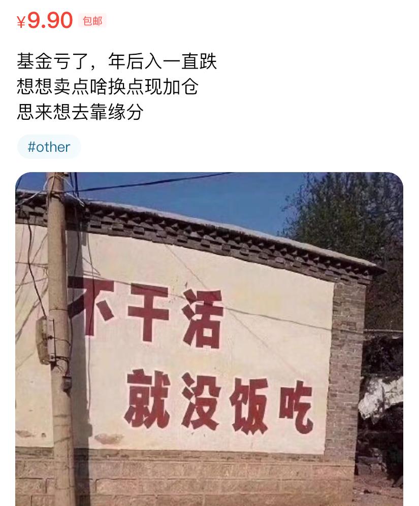 基金大跌,火了闲鱼卖货文案~插图24