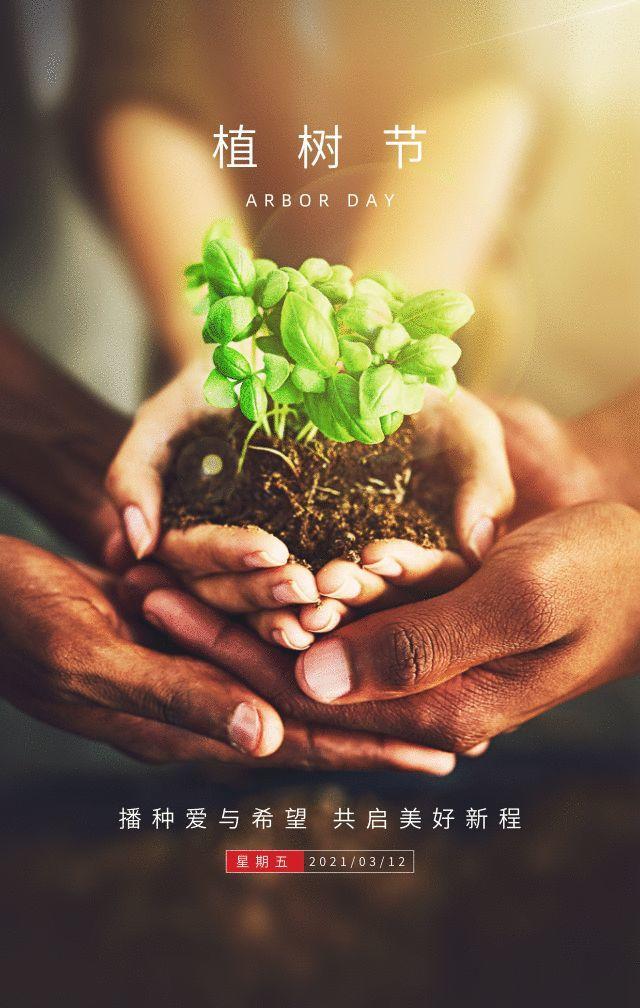 植树节文案、植树节海报宣传标语设计欣赏: 植树节, 你想栽在我心上?插图49