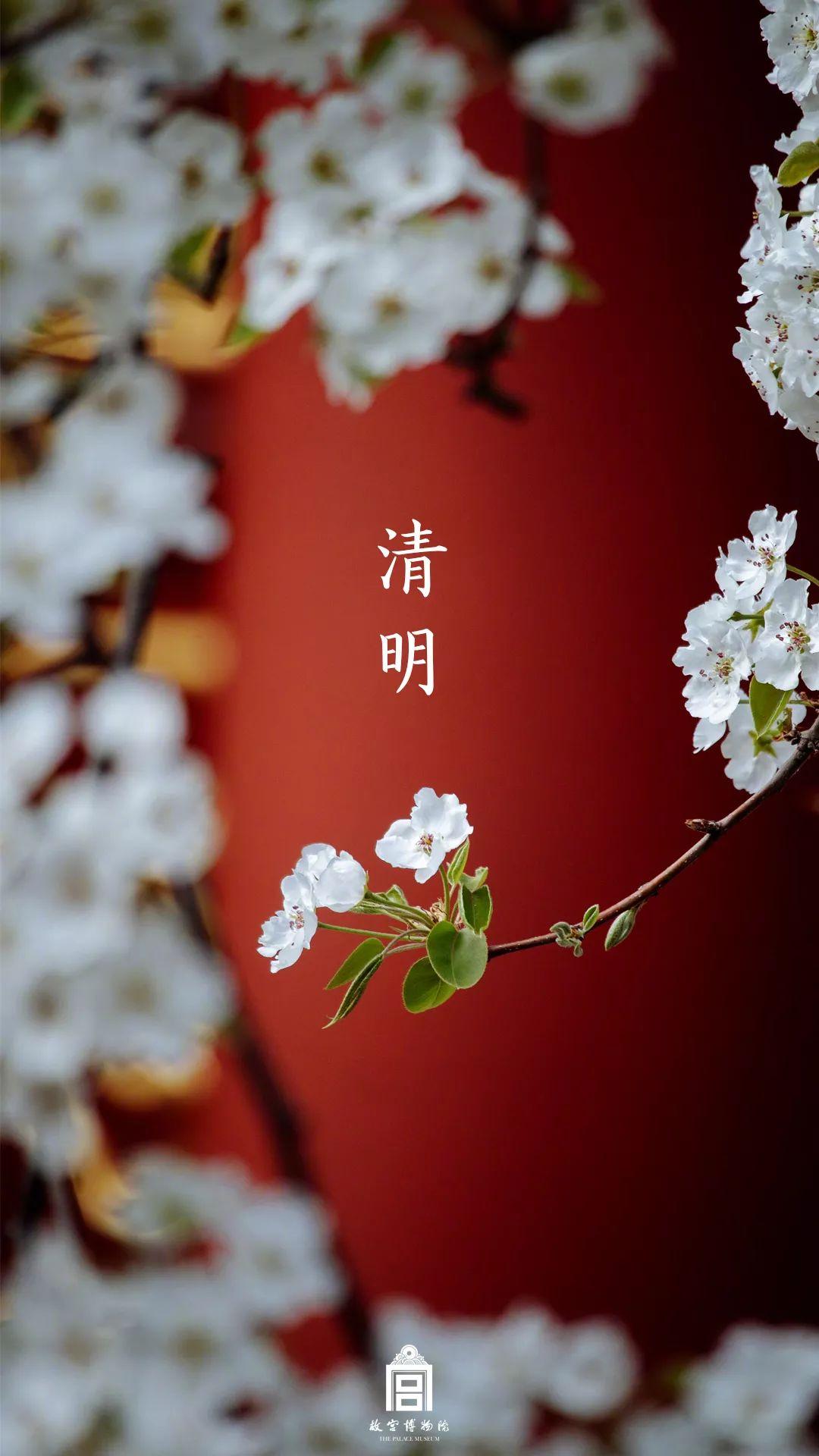 清明节海报文案: 低头追思故人,抬头迈向春天!插图2