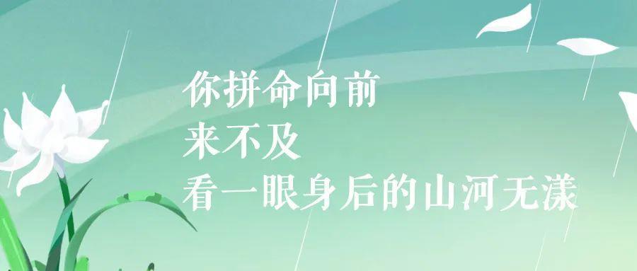 致敬,追思,前行清明节文案: 春风落日万人思插图3