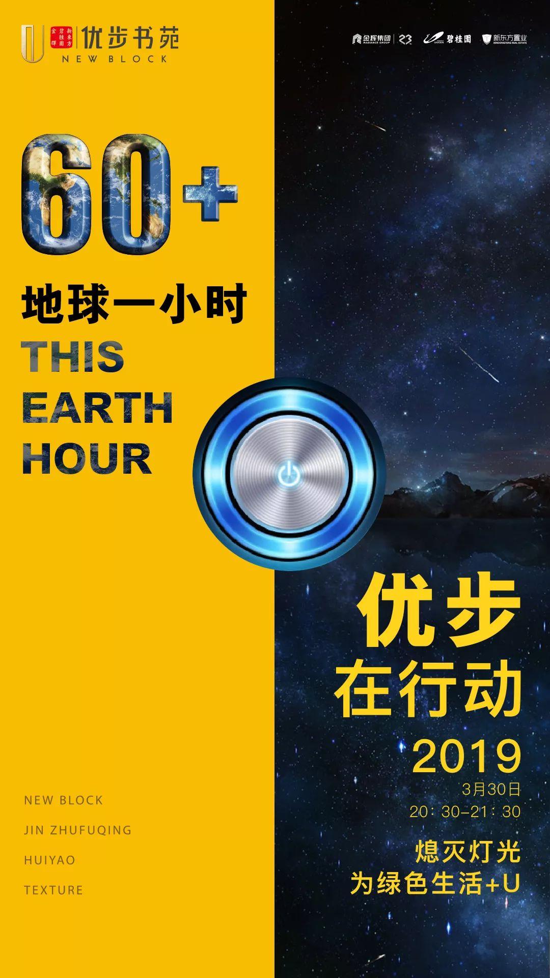 地球一小时文案海报:抬头发现天空中最亮的星!插图21