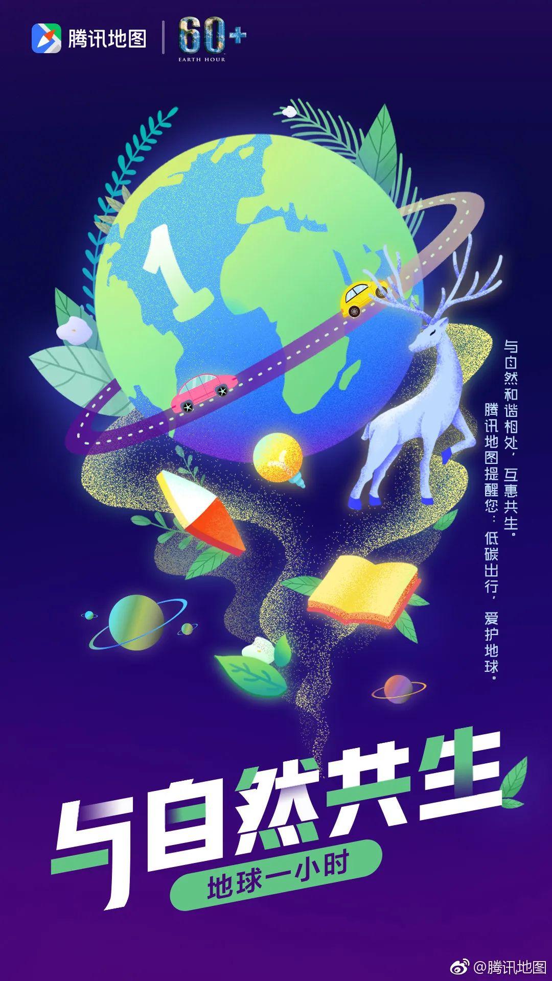 地球一小时文案海报:抬头发现天空中最亮的星!插图7