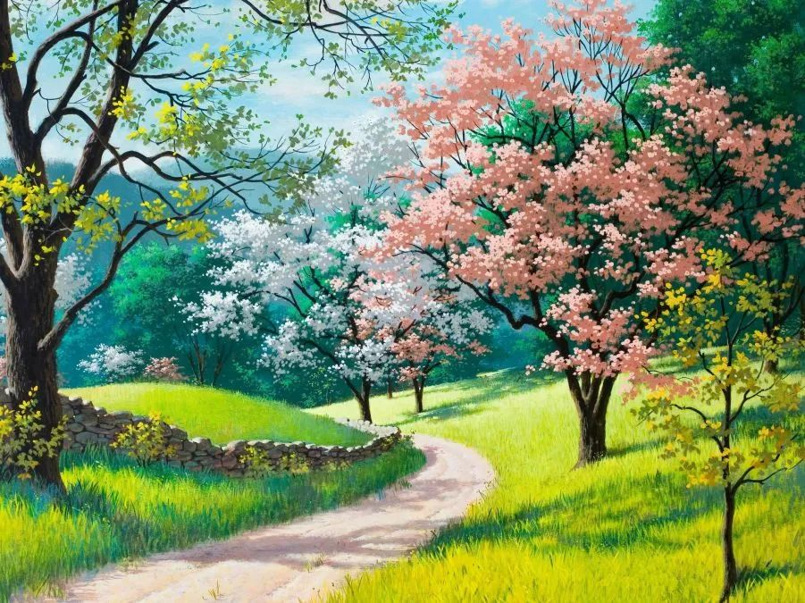 春日治愈系朋友圈文案: 我爱任何地方的春天,插图6