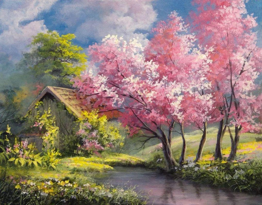 春日治愈系朋友圈文案: 我爱任何地方的春天,插图9
