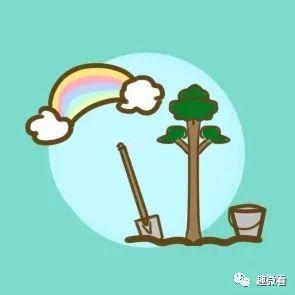 2021植树节祝福语抖音文案:种棵摇钱树,财神常眷顾。插图