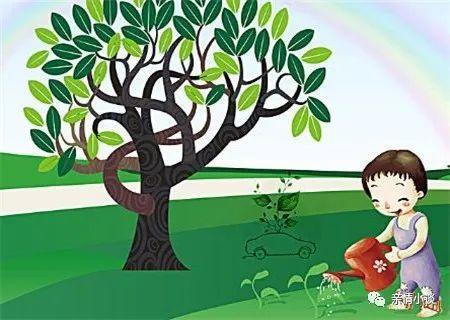 朋友圈植树节文案短句说说:绿水青山,有你有我。插图1