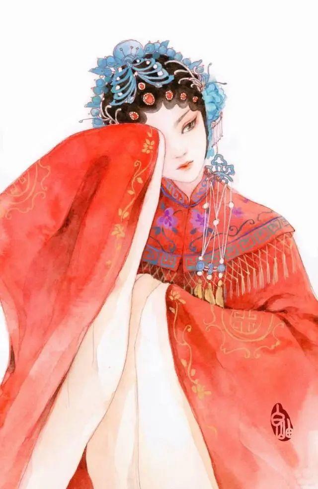 适合女生发的古风唯美文案说说: 从此人海漂流,闭口不谈爱到白头。插图4
