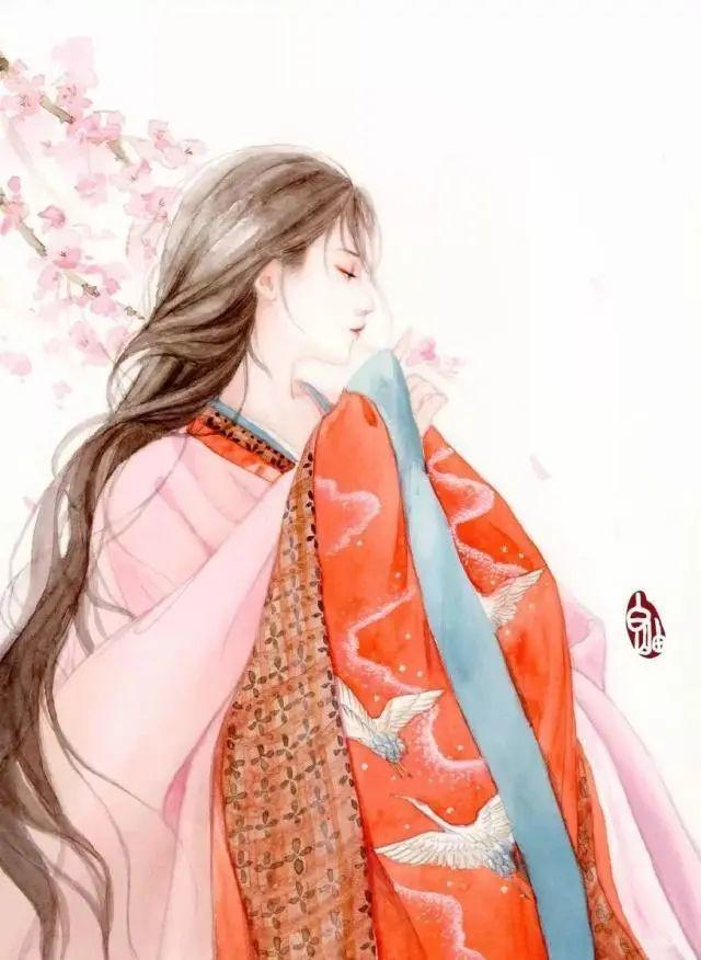 适合女生发的古风唯美文案说说: 从此人海漂流,闭口不谈爱到白头。插图3