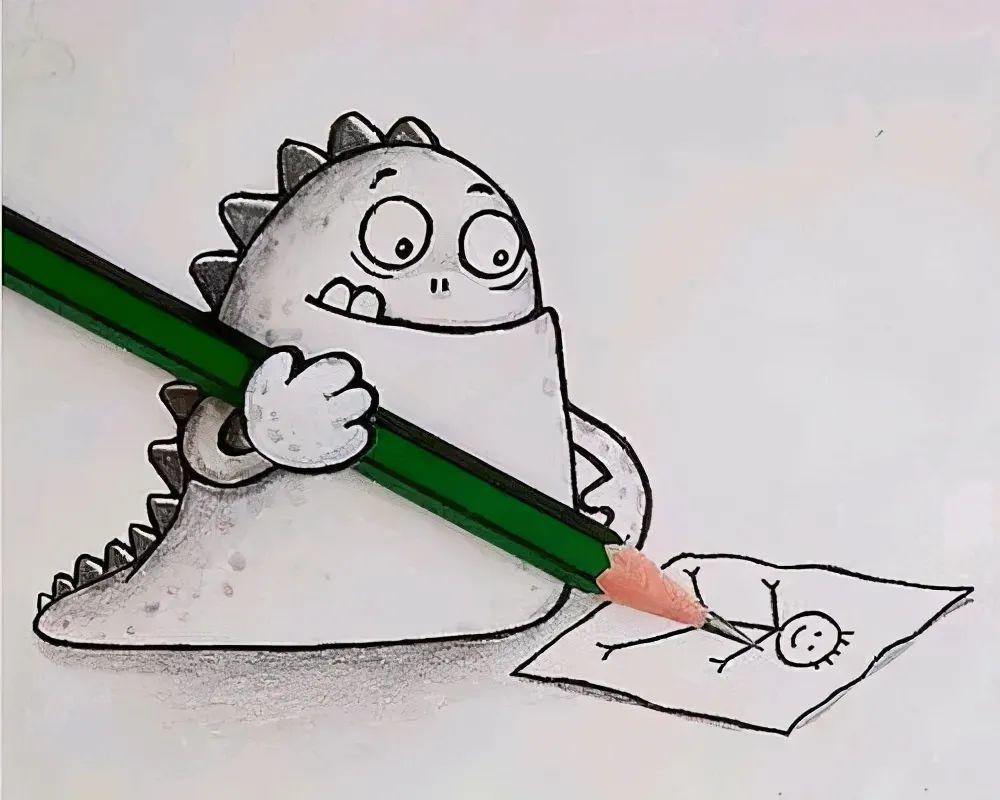 适合自我调侃的搞笑文案:幸福就是,虽然上课没听,但发现听的人都没听懂。插图4