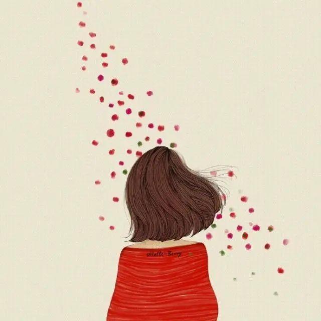 满怀酸楚的痛哭落泪文案:有多少我爱你,最后成了对不起。插图2