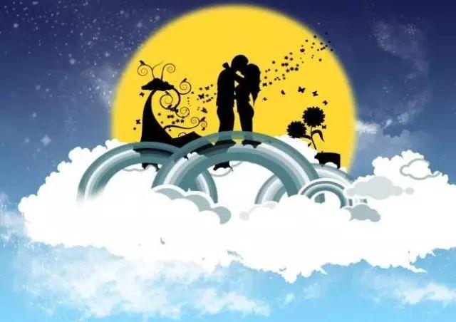 七夕祝福语录大全简短 七夕情人节老婆祝福语:年年七夕,年年与你。插图2